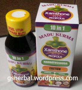Madu kurma xamthone plus prolis